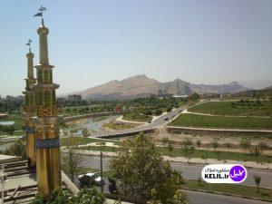 گلدسته های مسجد امام علی (ع) کوی جهادگران